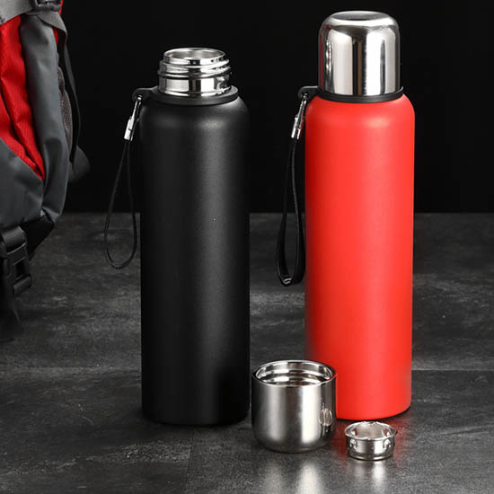 insulated camping water bottle with fliter