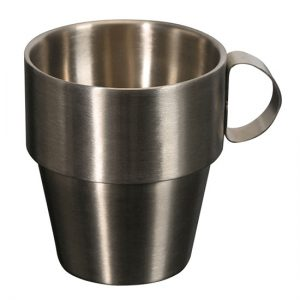 stainless tumbler with handle