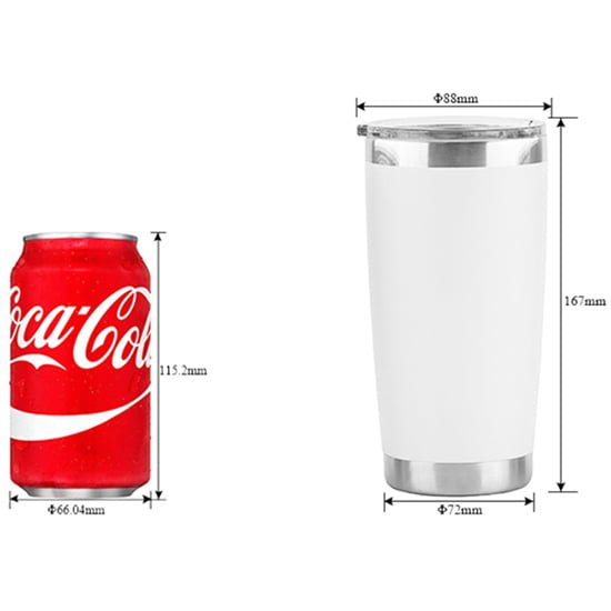 20oz double wall vacuum tumbler