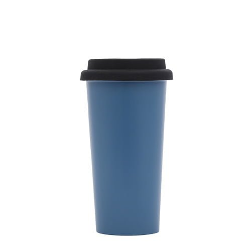 stainless steel insulated tumbler with silicone lid