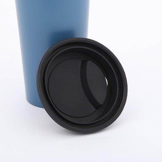 vacuum insulated coffee mug with lid