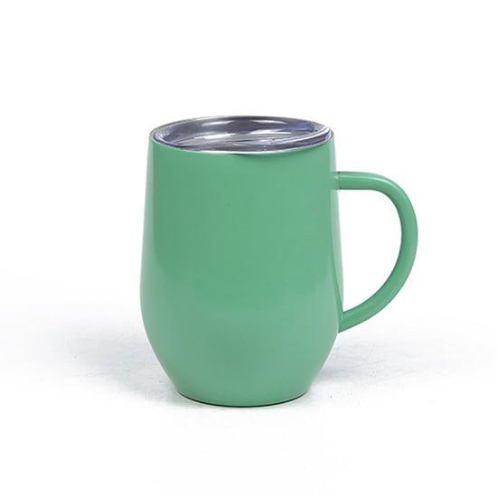 insulated coffee mug wine cup with handle
