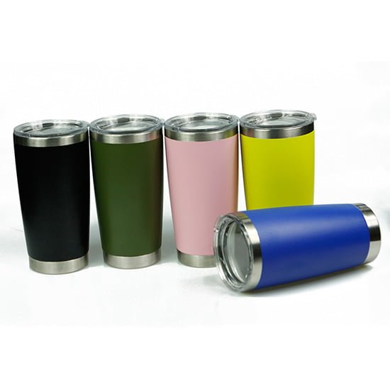 20oz colorful vacuum tumbler