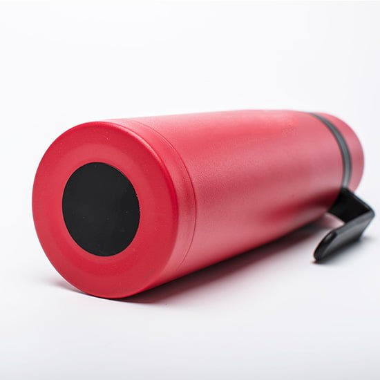 insulated water bottle with handle&cap