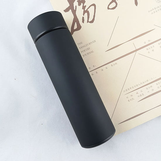 insulated water bottle with filter