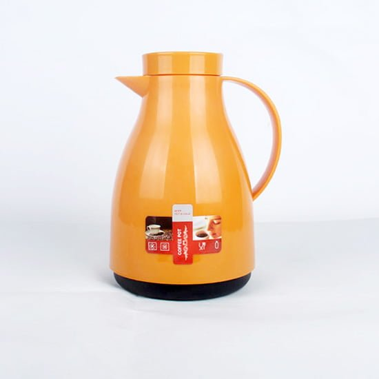 plastic body glass lined coffee pot