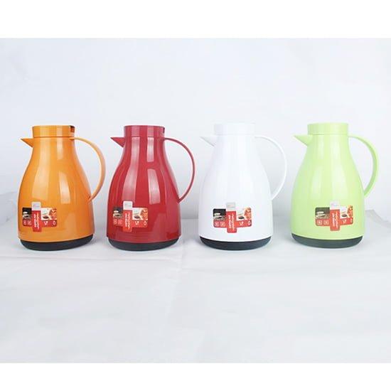 plastic body glass lined coffee pot