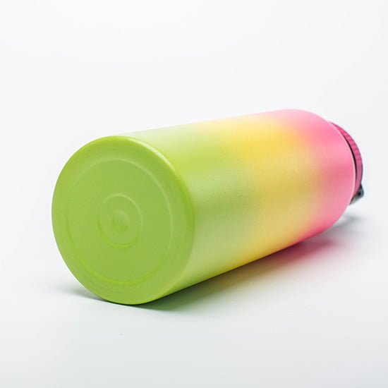 insulated water bottle with handle lid
