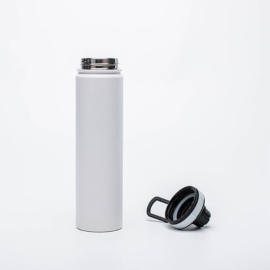 insulated bottle with spout lid