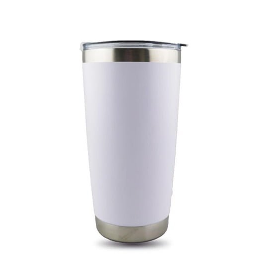 20oz white coffee mug