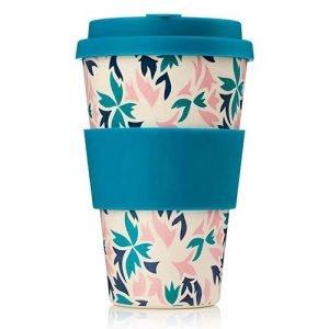 Bamboo fiber coffee cup