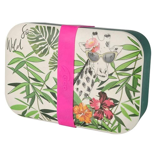 bamboo fiber bento lunch box food storage container