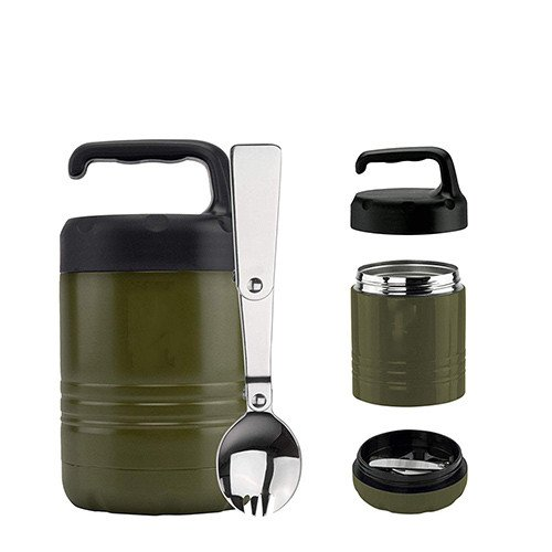 multi-layer lunch box with handle