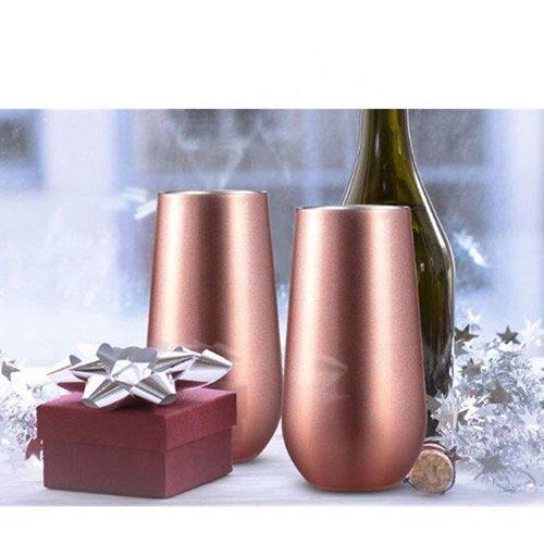 6oz insulated wine glass