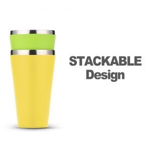 stainless steel insulated beer pint