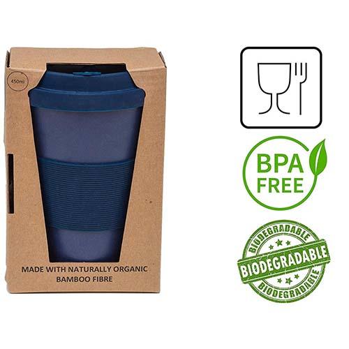 bamboo fiber travel mug